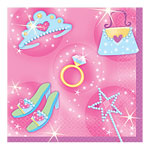 Princess Party Beverage Napkins