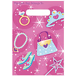 Prismatic Princess Party Bags - Plastic Loot Bags