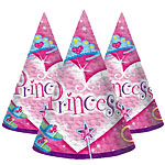PrismaticPrincess Cone Party Hats - 15cm