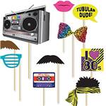 80's Photo Booth Props
