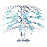 Radiant Cross Blue Mini Cascade Table Centrepiece - 22cm