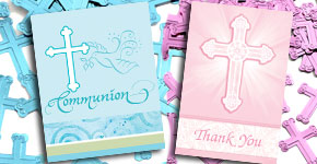 Communion Invitations & Thank Yous