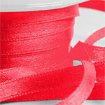 Red Satin Ribbon - 6mm