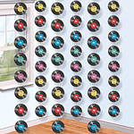 Rock Star Party Record String Decoration