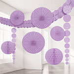 Lilac Damask Room Decorating Kit