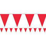 Red Paper Bunting - 4.5m