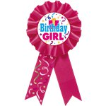 Birthday Girl Rosette