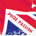 Great Britain 'Pride Passion' Napkins - 3ply Paper