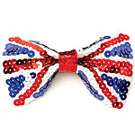 Bow Tie - Union Jack Sequin Fancy Dress