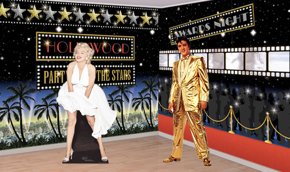 Hollywood Scene Setters Party Delights