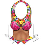 Plastic Beach Babe Vest - Hawaiian Accessories