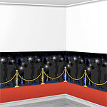 Red Carpet Backdrop Scene Setter - 12.5m
