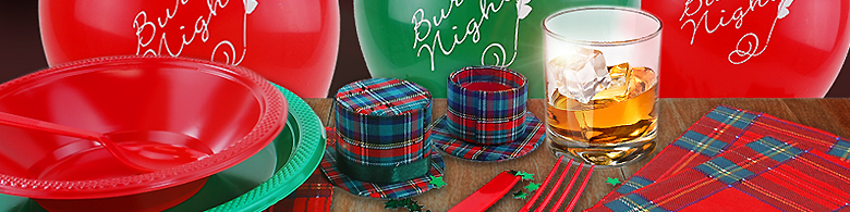 Burns Night Party Amp Scottish Party Supplies Party Delights