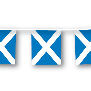 Scottish Flag Bunting - 7m
