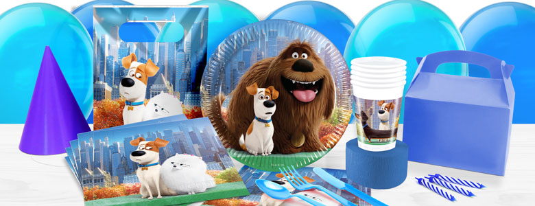 The Secret Life of Pets Party Supplies