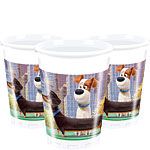 The Secret Life of Pets Plastic Party Cups - 200ml
