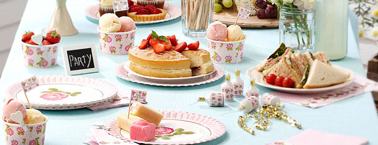 Shabby Chic Party Supplies Party Delights