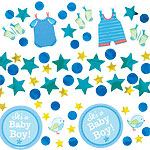Boy's Shower With Love Confetti Pack - 34g