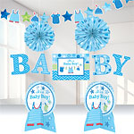 Boy's Shower With Love Room Decorating Kit