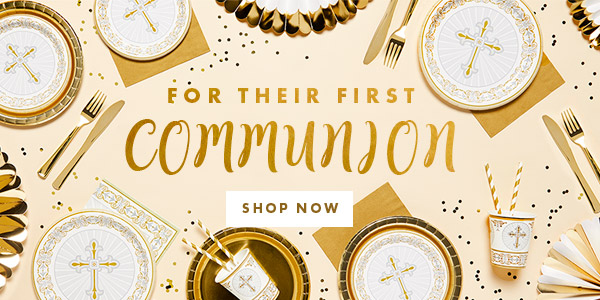 For their first communion