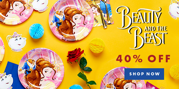 Party Supplies Beauty And The Beast