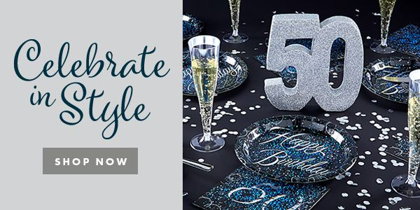 50th Glitz and Glamour Party - Celebrate in Style