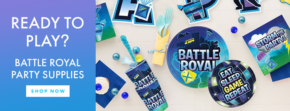 Ready to play? Battle Royal Party Supplies