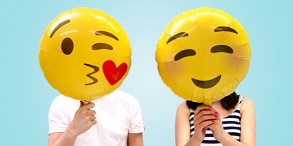 Add a little fun to your party with our brand new emoji balloons! Choose from all your favourites including heart eyes, winking face and more.