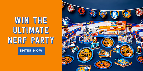 WIN the Ultimate Nerf Party Experience!