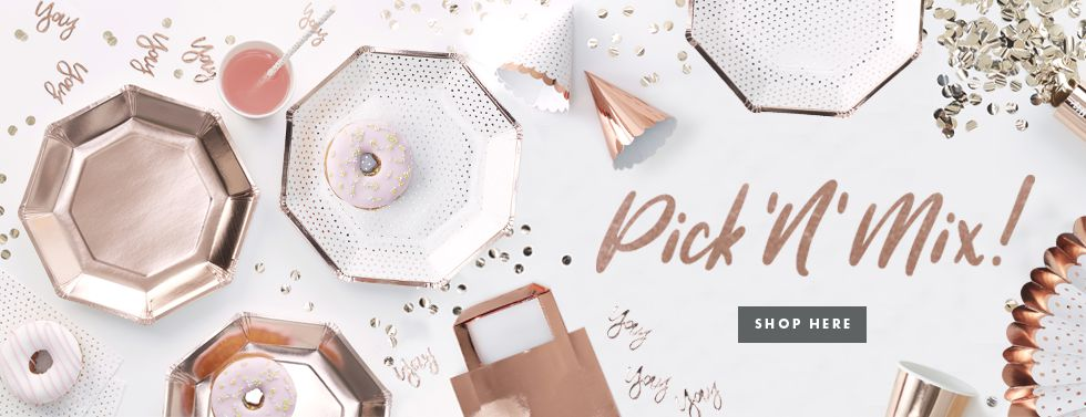 Pick and Mix Rose Gold