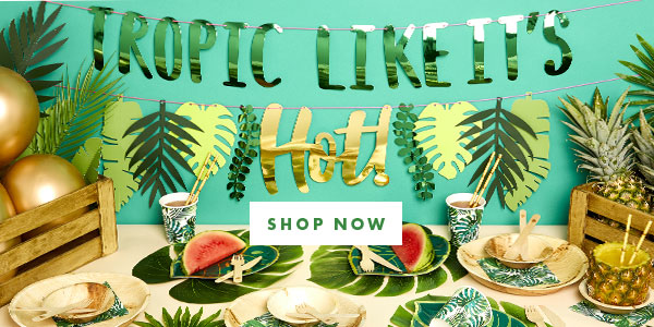 Tropic like its hot - Summer Party Tableware Themes