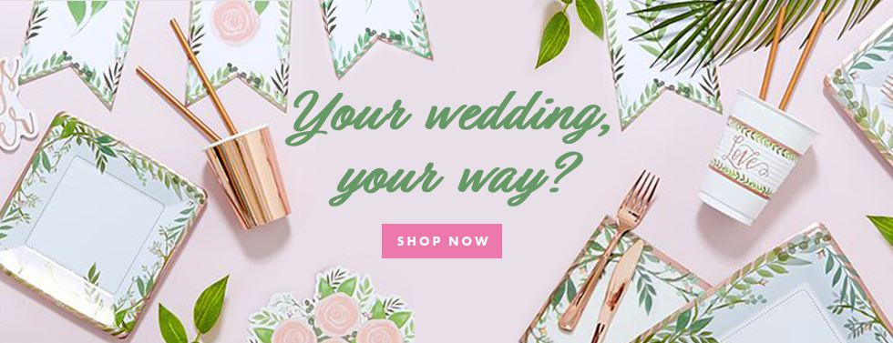 Your wedding, your way?