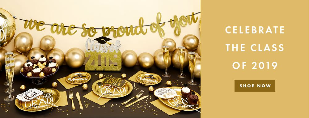 Graduation 2019 Party Supplies