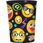 Emoji Party Supplies Smiley Plastic Gift Cup