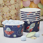 Space Adventure Treat Tubs