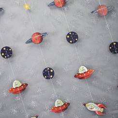 Space Adventure String Decoration - 2m