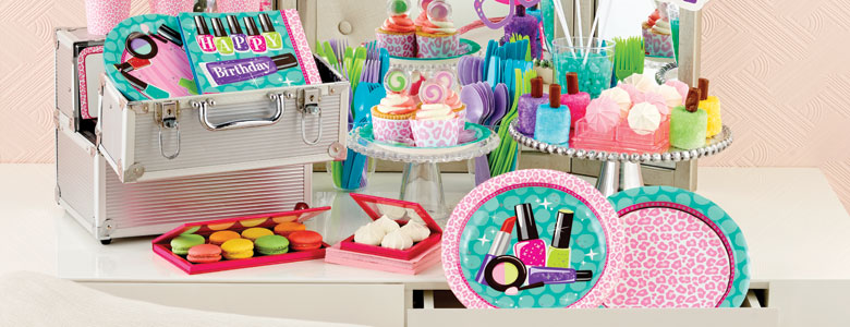 Sparkling Spa Party Supplies