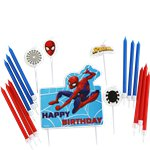 Spider-Man Candle Topper Set