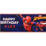 Spider-Man Personalized Giant Banner - 1.2m