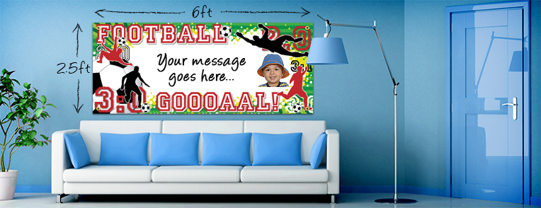 Personalised Football Banners