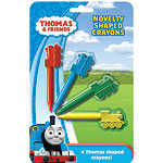 Thomas the Tank Novelty Shaped Crayons