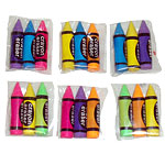 Crayon Shaped Erasers