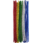 Glitter Pipe Cleaners - 30cm