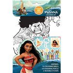 Moana Colouring Set