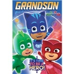 "PJ Masks ""Grandson"" Birthday Card"