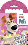 The Secret Life Of Pets Carry Along Colouring Set