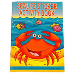 A6 Mini Sealife Sticker Activity Book