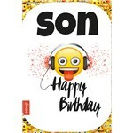 Emoji Son Birthday Card
