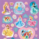 Disney Princess Sticker Bumper Pack - Over 150 Stickers
