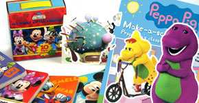 Popular Character Sticker Books